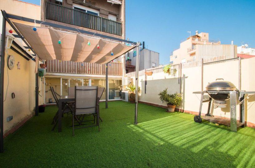 Piso con terraza en perfecto estado en el centro de Mataró, comprar piso centro mataro, fincas costa maresme,fincas mataro, comprar piso terraza en mataro